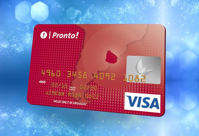 Imagen Tarjeta Visa de pronto